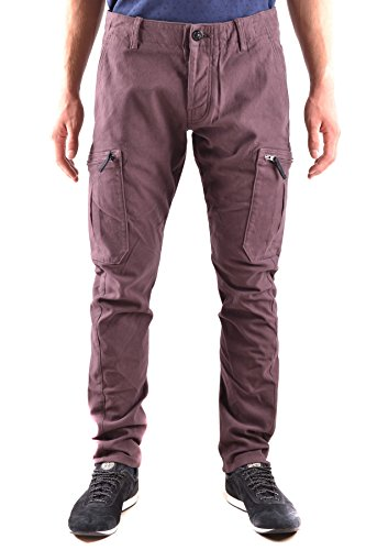 Stone Island Men's Purple Cotton Pants
