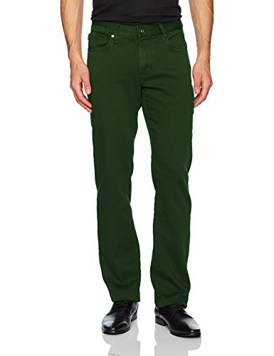 John Varvatos Men's Bowery Fit Jean, Zip Fly Aytr, Peat, 28