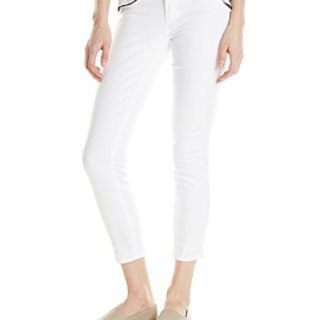 PAIGE Women's Verdugo Crop Jean, Ultra White, 26