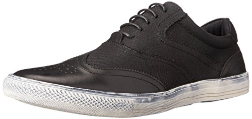 Joe's Jeans Men's Waves Fashion Sneaker, Black, 9 M US