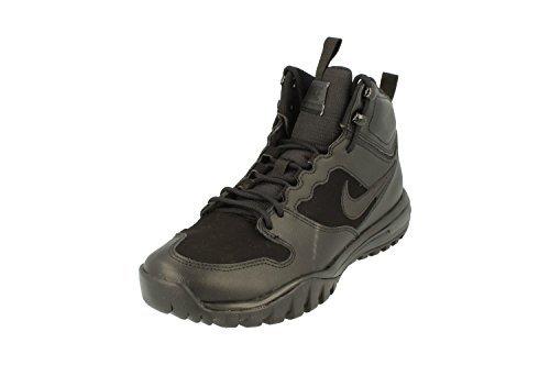 NIKE Dual Fusion Hills Men's Lace-up Boots (10 D(M) US, Black/Black)