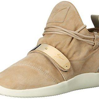 Giuseppe Zanotti Women's Fashion Sneaker, Natural, 8 M US
