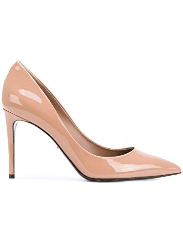 Dolce e Gabbana Women's Pink Leather Pumps