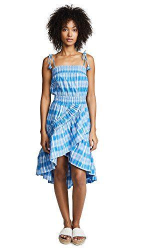 Misa Women's Fernanda Dress, Blue, Small