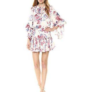 Misa Women's Cecilia Dress, Multi Fe, Large
