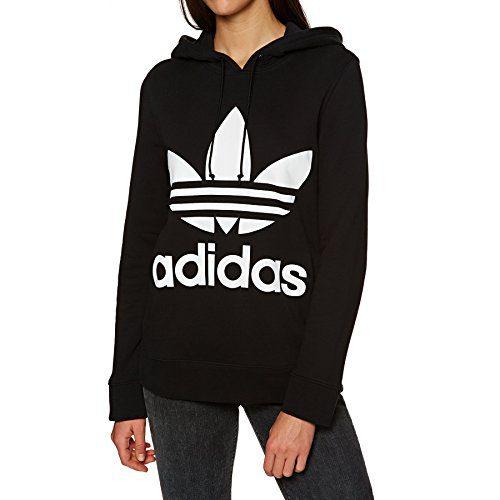 adidas Originals Trefoil Pullover Hoody 16 reg Black