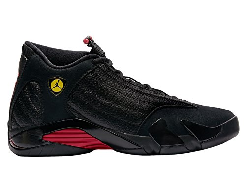 "Jordan Retro 14"" Last Shot Black/Varsity Red-Black (8.5 D(M) US)"