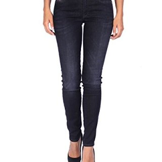 Diesel Women's Jeans Doris 835V - Super Slim Skinny - Black, W29/L32