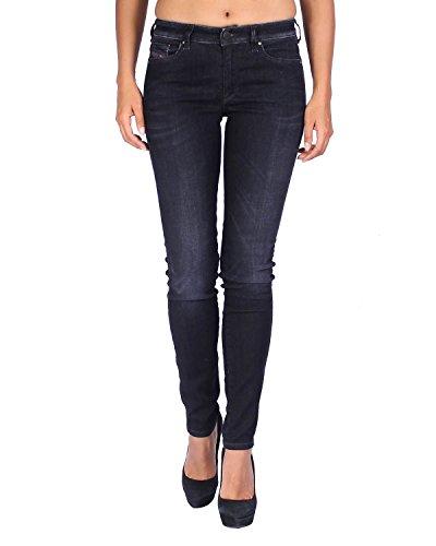 Diesel Women's Jeans Doris 835V - Super Slim Skinny - Black, W29/L32