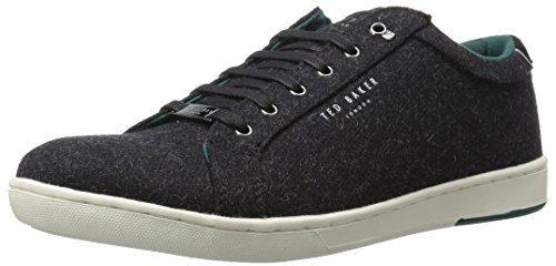 Ted Baker Men's Minem Sneaker, Black, 12 M US