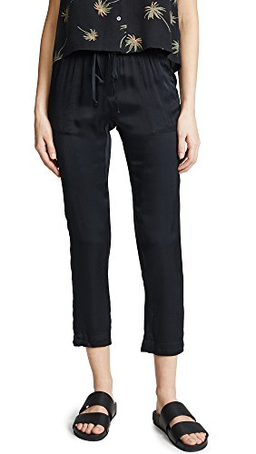 Enza Costa Women's Easy Pants, Black, 0