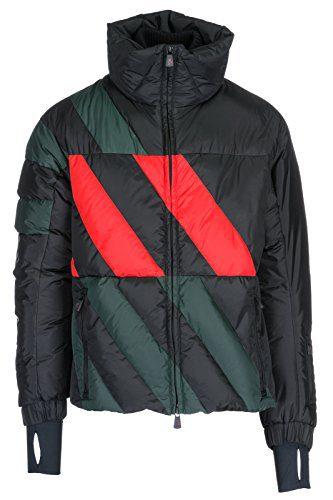 Moncler Grenoble Men's Bomber Outerwear Down Jacket Blouson Thorens Black US Size 3 (US L)