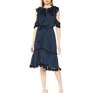 Misa Women's Pillar Dress, Cobalt Blue Cobalt Blue, Large