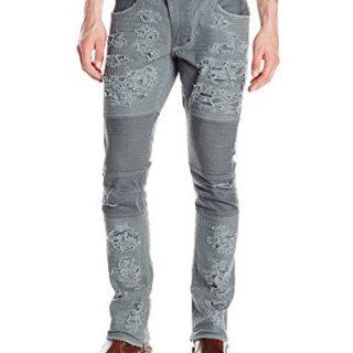 PRPS Goods & Co.. Men's Windsor Skinny Fit, Dark Gray, 34