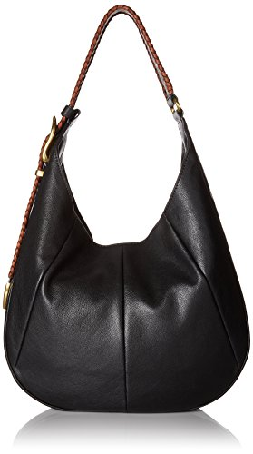 FRYE Jacqui Whipstitch Hobo, Black