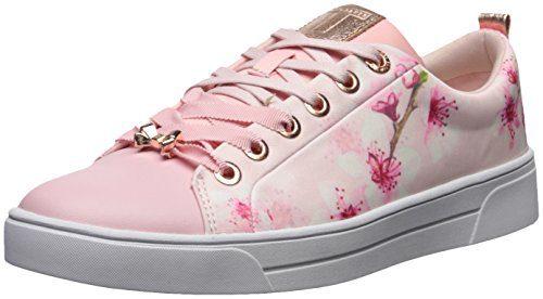 Ted Baker Women's Ahfira Sneaker, Blossom Print, 8.5 B(M) US