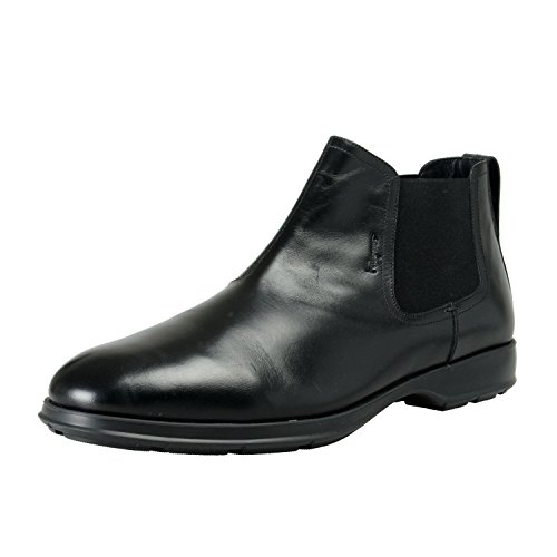 Salvatore Ferragamo Men's Good2 Leather Boots Shoes US 11.5 IT 10.5 EU 44.5EEE