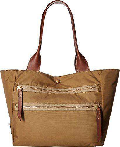 FRYE Ivy Nylon Tote Handbag, Tan