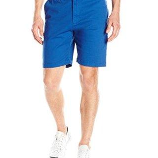 Original Penguin Men's 9' Stretch Twill Short Slim, True Blue, 32
