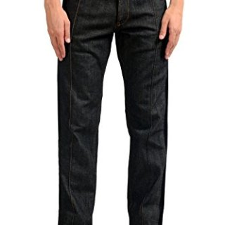 Just Cavalli Men's Dark Gray Denim Casual Pants US 33 IT 49