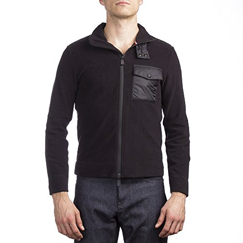 Moncler Men's Fleece Jacket Black