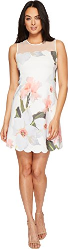 Ted Baker Women's Caprila Dress, White, 5