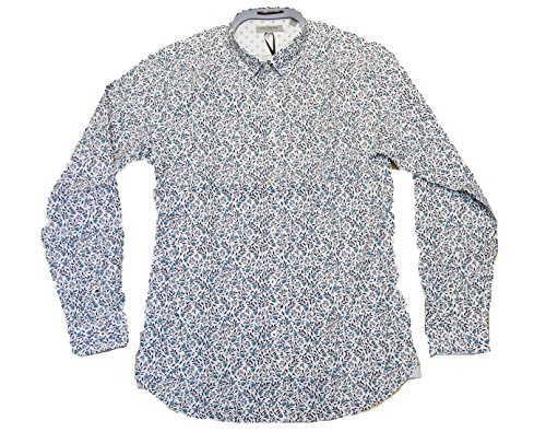 Ted Baker Thornie Floral Print Men's Long Sleeve Shirt TA6M/GA36 (XXLarge)