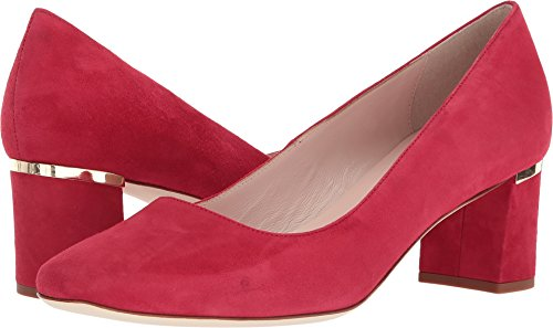 Kate Spade New York Women's Dolores Too Charm Red Kid Suede 5.5 M US
