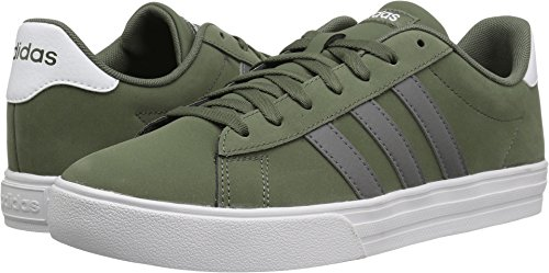 adidas Men's Daily 2.0, Base Green/Grey Four/White, 12 M US