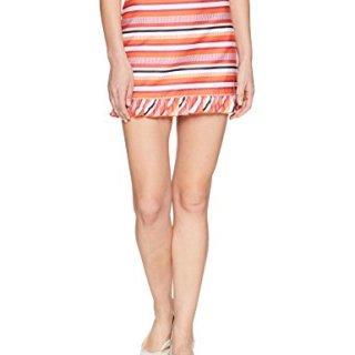 Trina Turk Women's Rico 2 Ruffle Hem Skirt, Multi, 8