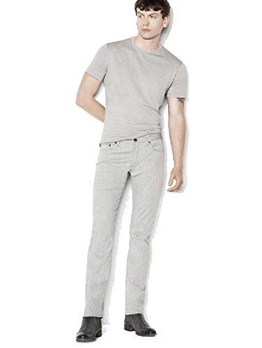 John Varvatos Woodward Cotton Stretch Jean (Griffin Grey, 36 RG)
