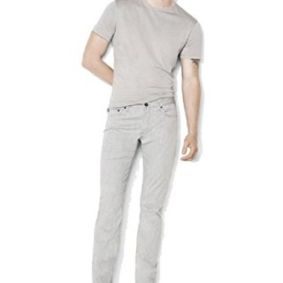 John Varvatos Woodward Cotton Stretch Jean (Griffin Grey, 36 RG)