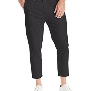 Publish Brand INC. Men's Classic 5 Pocket Ankle Pant, Black, 34