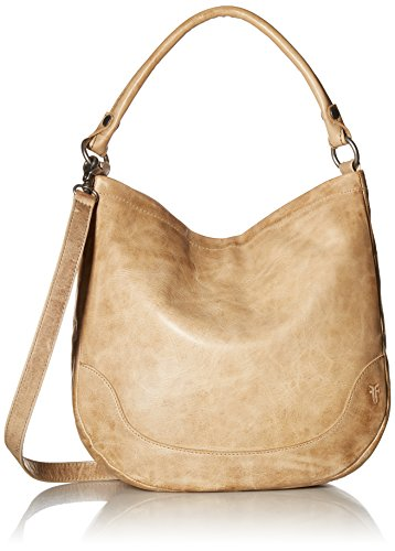 FRYE Melissa Hobo Leather Handbag, Sand