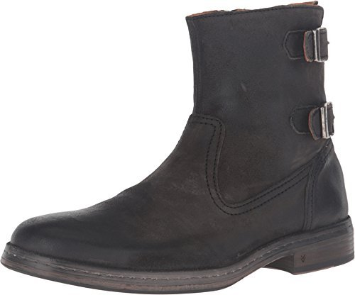 John Varvatos Men's Julian Zip Boot Steel Grey Boot 7.5 D (M)