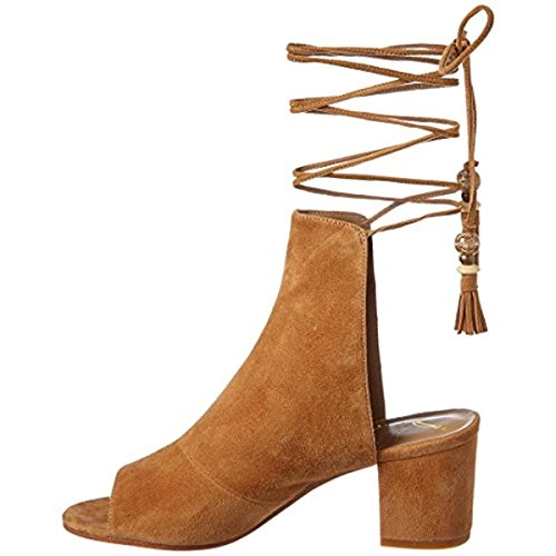 1610c24eaa8 Brian Atwood Womens Bali Ankle Lace-up Dress Sandals Brown 6.5 Medium (B