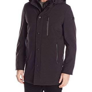 Tumi Men's Tech Stretch Softshell 3 in 1 System Jacket, Black, Large