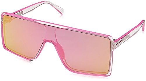 Marc Jacobs Polarized Rectangular Sunglasses, Cryspink, 99 mm