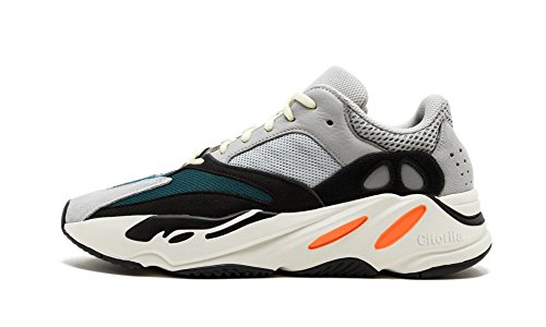 Luxury Popular High End Wave Runner Original Chunky Triple S Sneakers Solid Grey Men US10