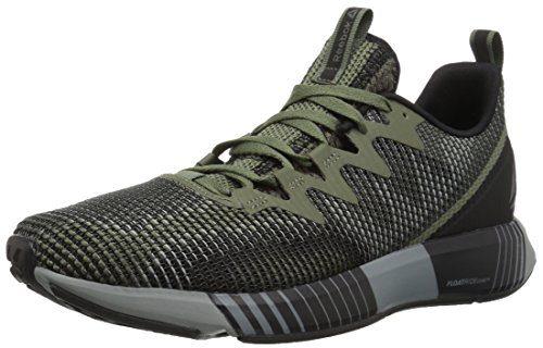 Reebok Men's Fusion Flexweave Sneaker, Hunter Green/Black/Army g, 11.5 M US