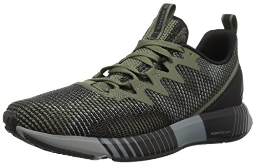 Reebok Men's Fusion Flexweave Sneaker, Hunter Green/Black/Army g, 11.5 M US