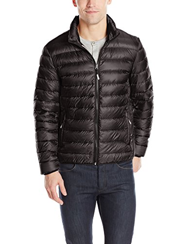 Tumi Men's Pax On-The-Go Packable Jacket,Black,Medium