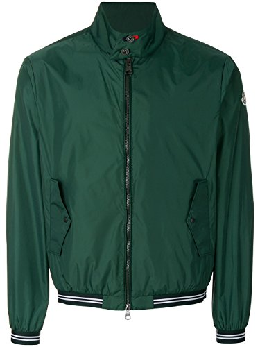 Moncler Men's Green Polyamide Outerwear Jacket