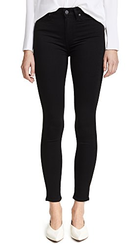 PAIGE Women's Margot Ultra Skinny Jean in Black Shadow, Black Shadow, 26