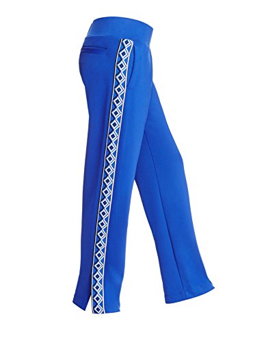 Versace Royal Blue Geometric Track Pants $650 (S)