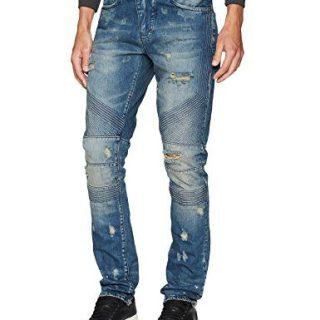 PRPS Goods & Co. Men's Le Sabre Jean, Medium Indigo, 34