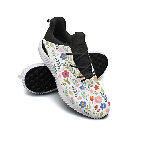 Floral Flowers Men Shoes Running Shoe Trail Runner