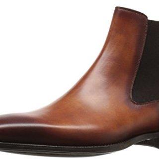 Magnanni Men's Sean Chelsea Boot, Cognac, 9.5 M US
