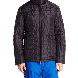 Tumi Men's Mission 3D Quilted Puffer Jacket, Black, Large