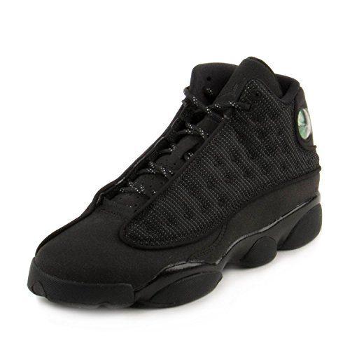 Jordan Kid's Air 13 Retro BG, Black/Black-Anthracite, Youth Size 5